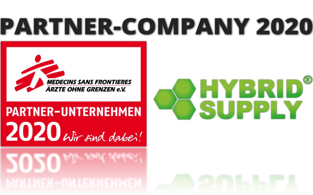 Partner Company 2020! We support the work of Doctors Without Borders