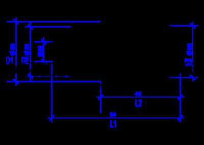 DREHMEISTER Euronozzle адаптер за пълнене с газ външна гърловина М12