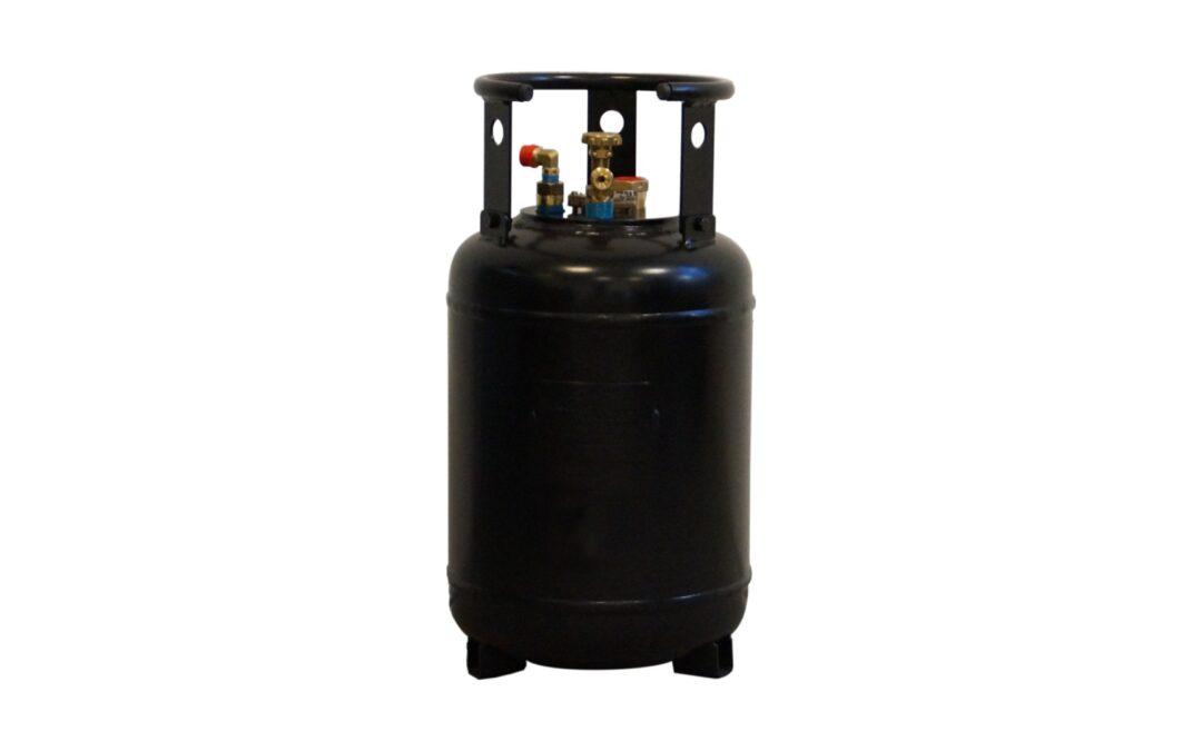 30 литра газова бутилка с вкл. 80% стоп за пълнене – без 10-годишен период на инспекция