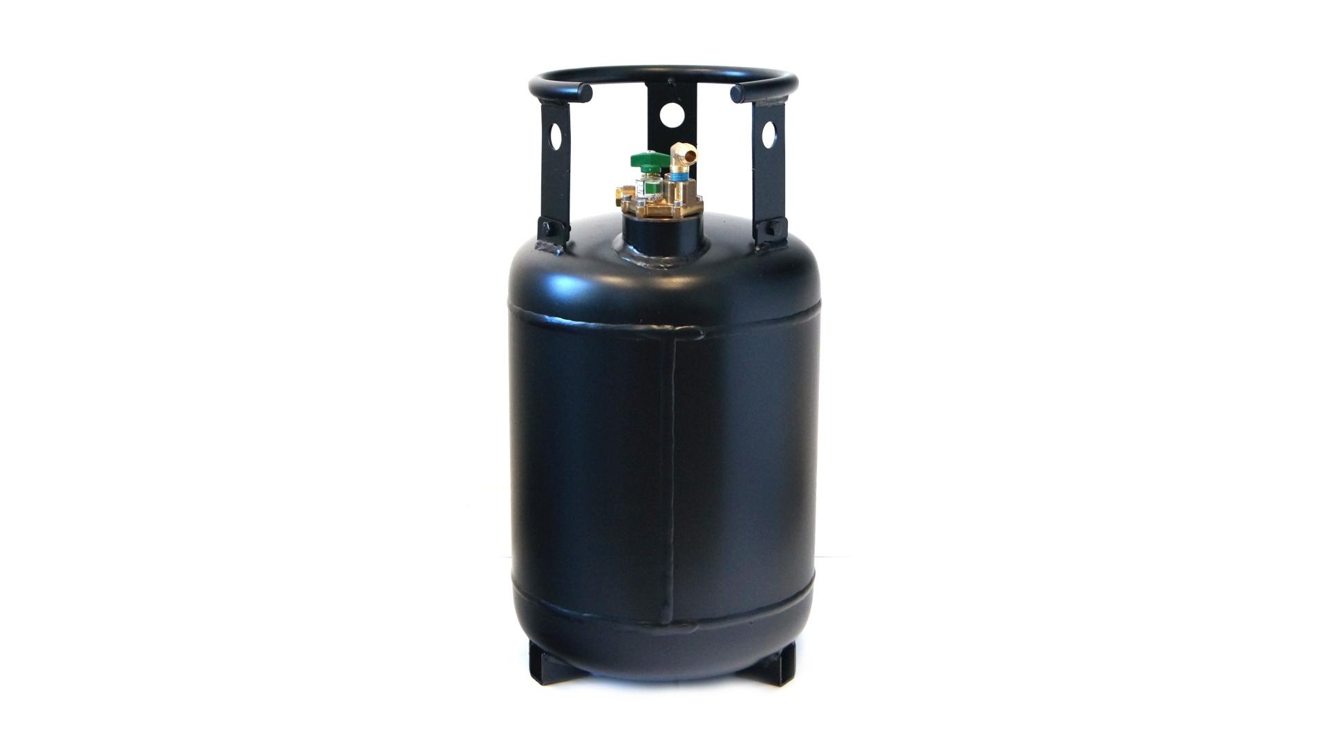 Газова бутилка 30 литра с вкл. стоп на пълнене 80% и мултиклапан
