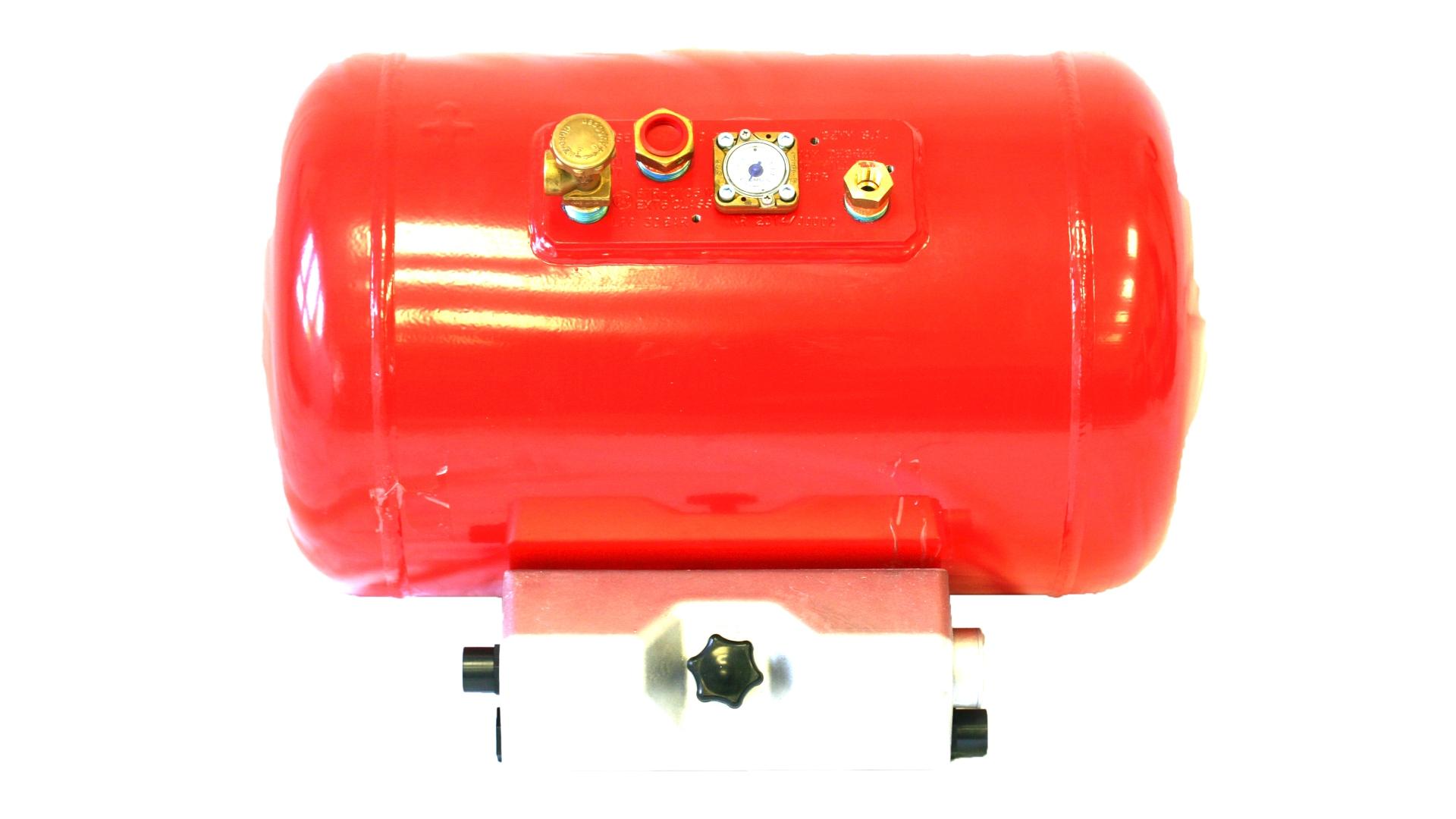 Резервоар за газ с 4 отвора