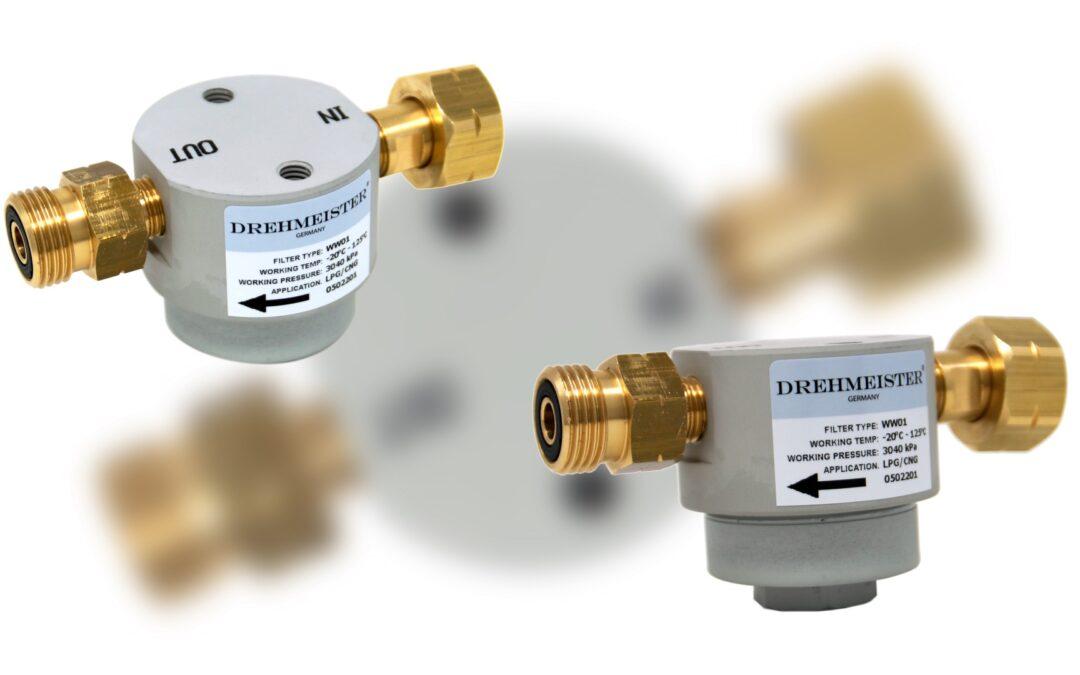 DREHMEISTER филтър за газови бутилки