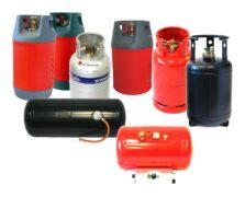 Газови бутилки и резервоари