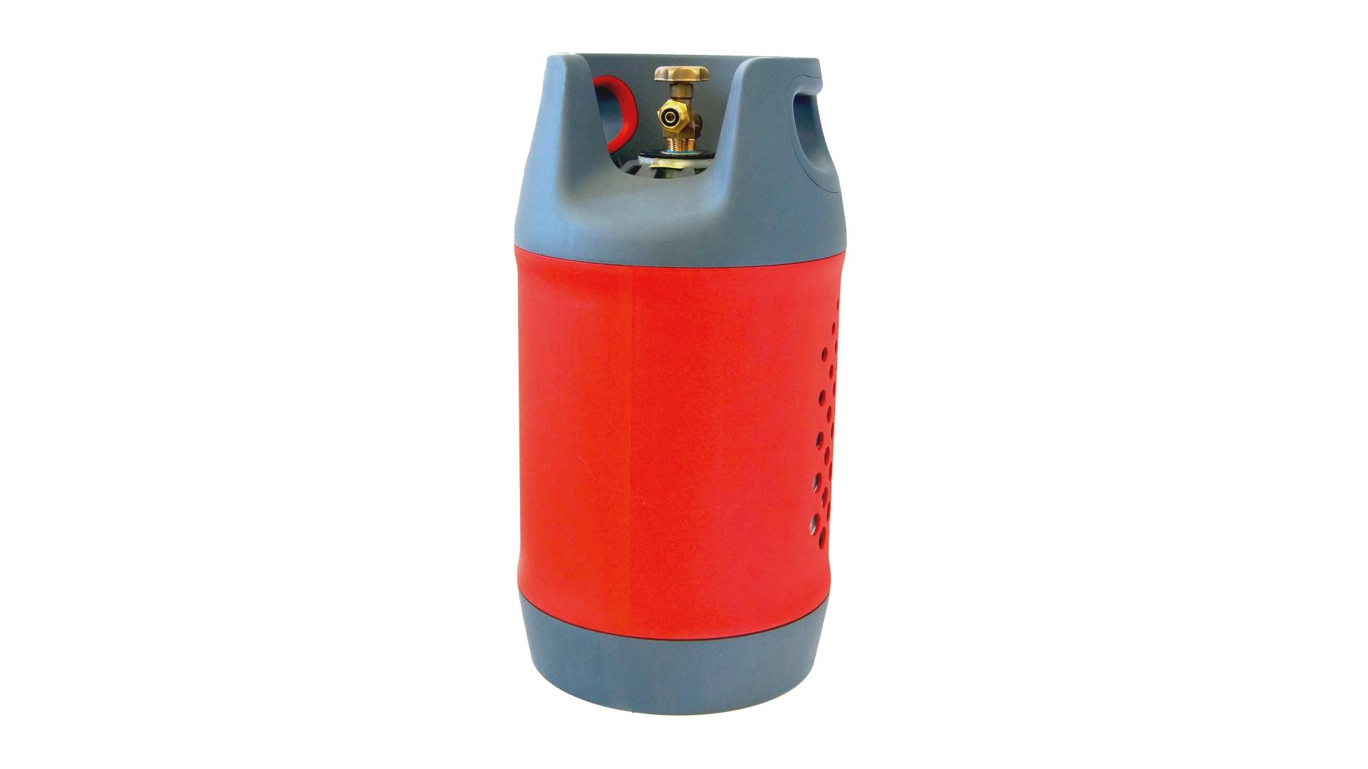 Композитна газова бутилка 24,5 литра с мултиклапан и пълнене до 80%