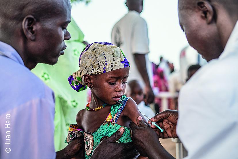 Ваксинация срещу морбили отговор на MSF (област Ам Тиман)