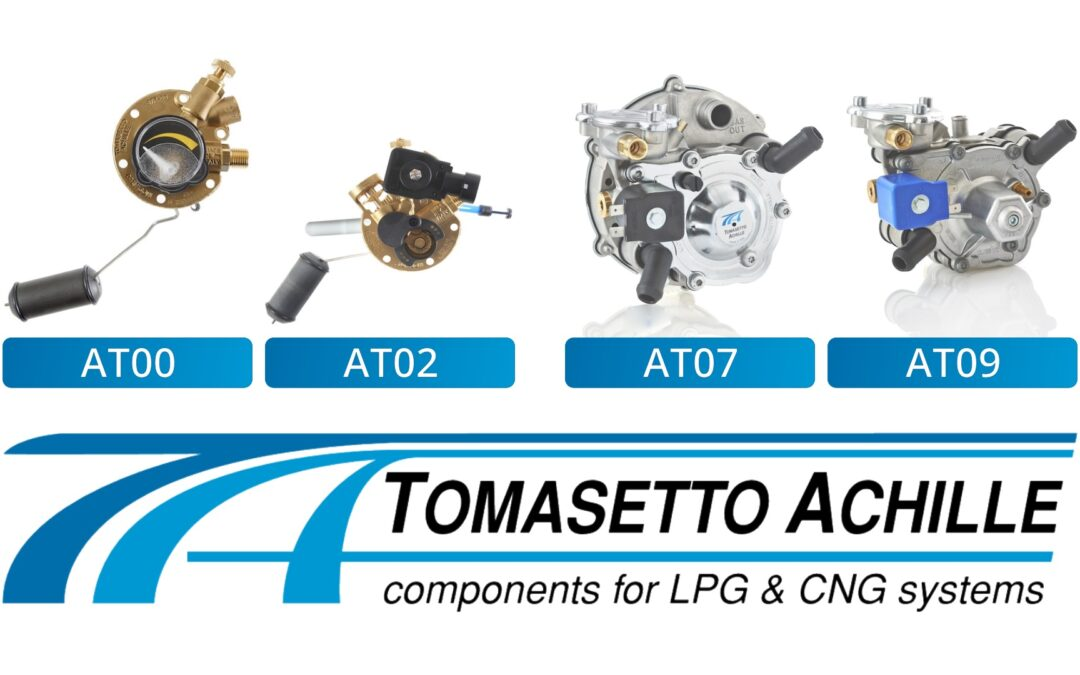 Tomasetto LPG & CNG Компоненти