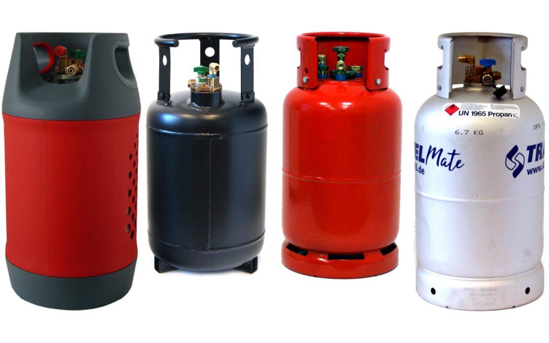 Газови бутилки за многократно зареждане