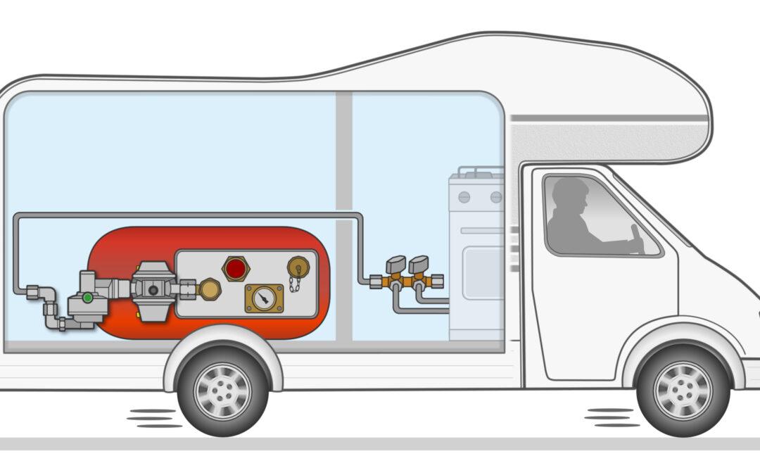 GOK Регулатор на налягането на газта за газови бутилки в кемпери
