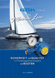 Решения за пропан-бутан на лодки - MarineLine (немски)