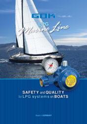 Решения за пропан-бутан на лодки - MarineLine (английски)