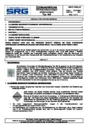 Инструкции за инсталиране SRG дистанционен индикатор