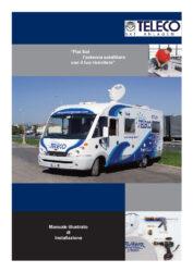 Ръководство за инсталиране на плоска сателитна антена (италиански)