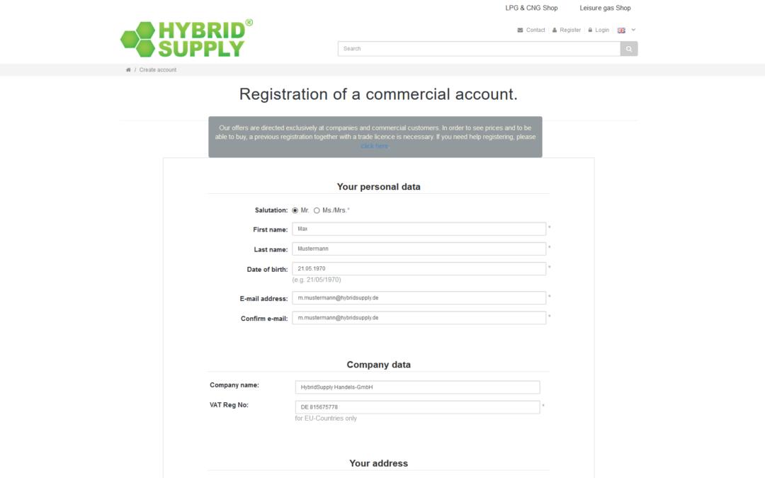 Помощно видео: Създаване на акаунт за бизнес клиент