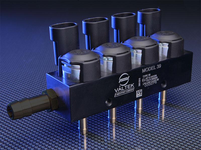 Инжекторната LPG/CNG рейка Valtek 39 заменя Valtek 34